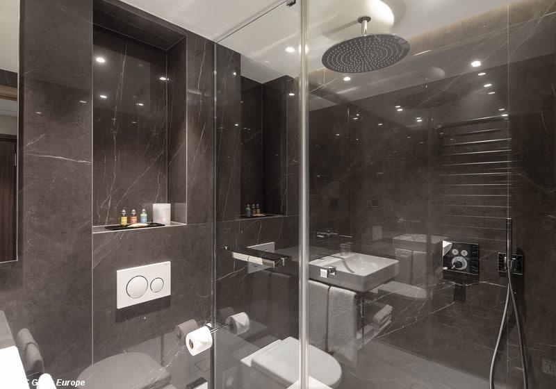Hotel-D, paroi de douche en verre anti-corrosion Luxclear Protect