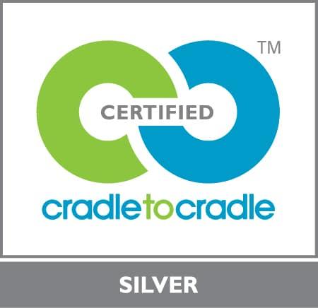 Verre laqué certifié Cradle to Cradle Silver AGC